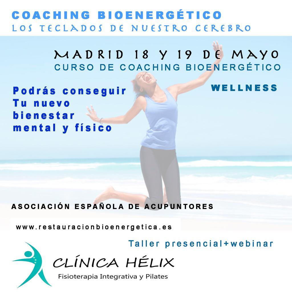 curso coaching bioenergetico madrid