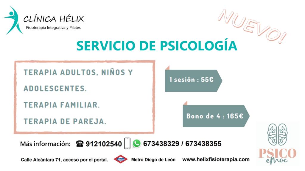 Psicología. Nuevo servicio!